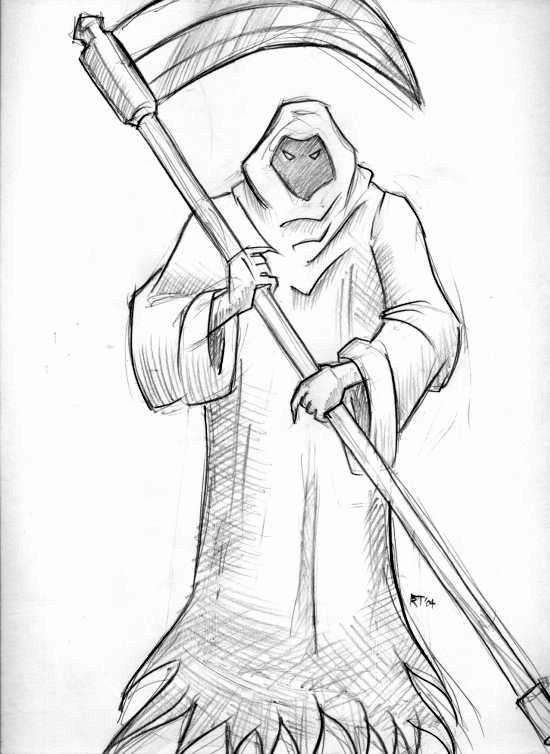 grim reaper by blongblang
