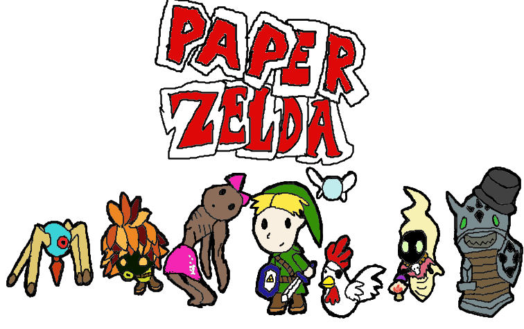 Paperzelda - The Legend of Zelda: The Wind Waker - Link
