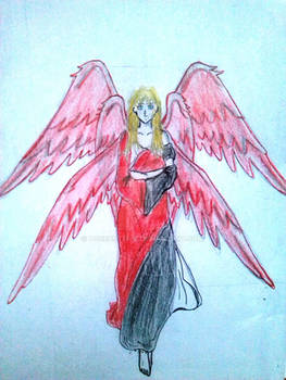 The Angel of Light / The Morning Star (Old drawn)