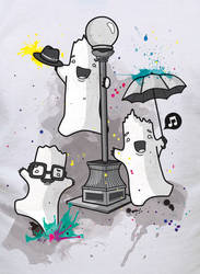 Singing in the rain by recycledwax