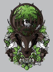 Spirit of the forest by recycledwax