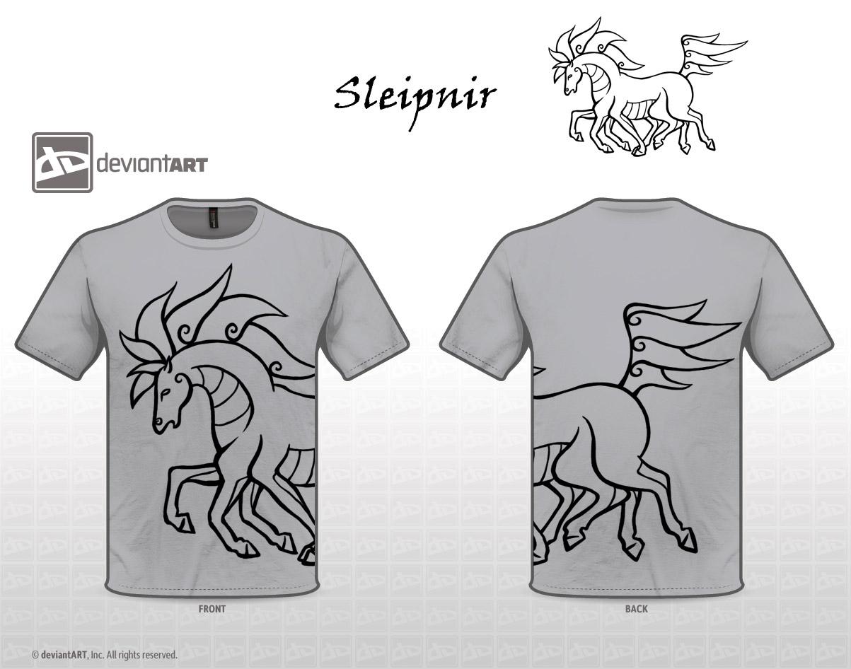 Sleipnir shirt by SharkSmirk