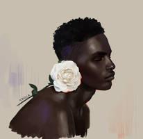 Study- Rose by Tpiola