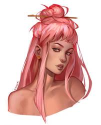 Pink dream by Tpiola