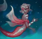 Starry mermaid