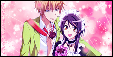 Misaki and Usui Sig by RaveNScythE18