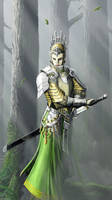 elven guard by Pandarice