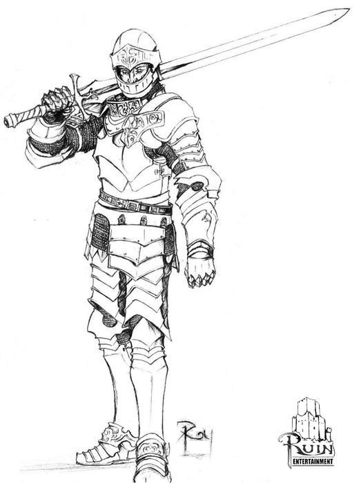 knight by Pandarice
