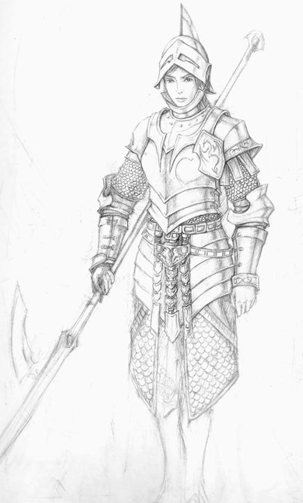 female armour by Pandarice