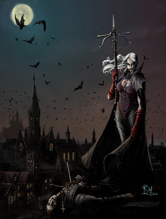 vampire princess by Pandarice