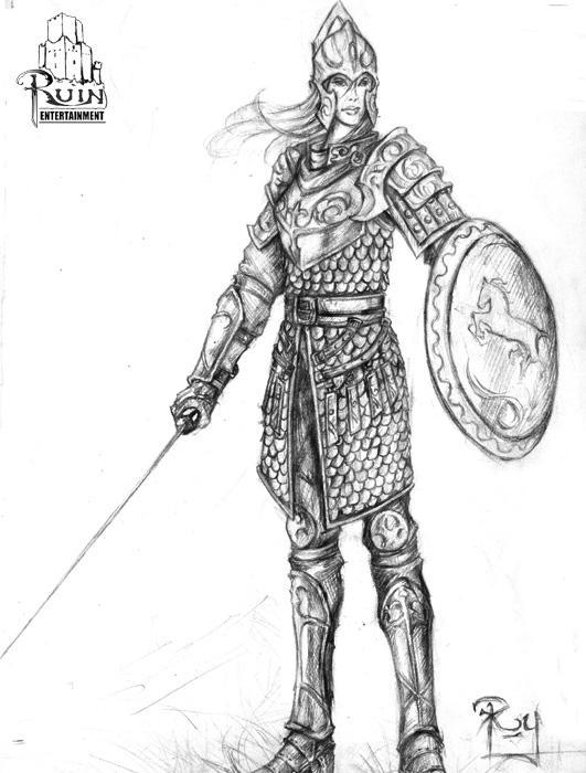 shield maiden by Pandarice