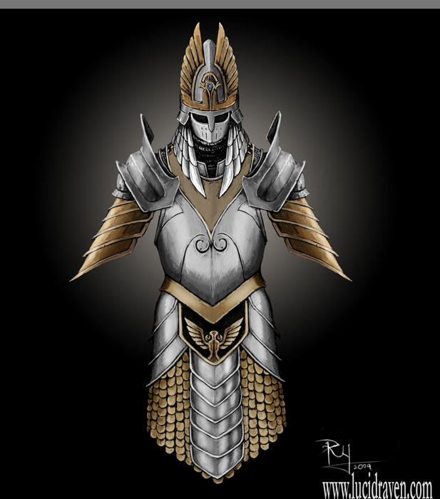 Fantasy Armour Art