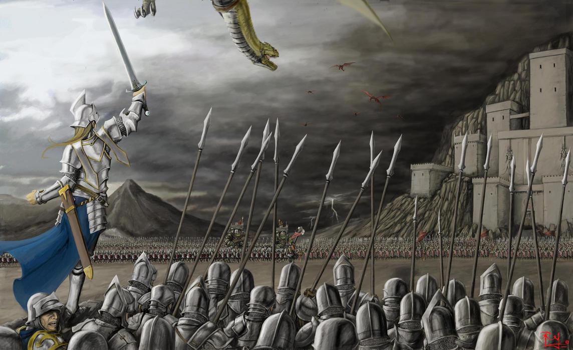 To war by Pandarice