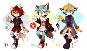 ADOPTABLE BATCH [1/3 OPEN] by MintyCheese