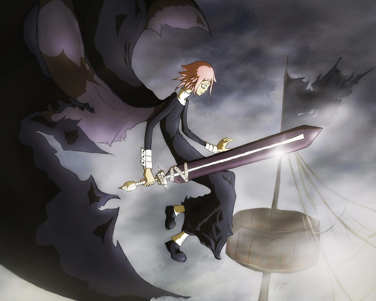 Black Dragon - Crona by icyzappy