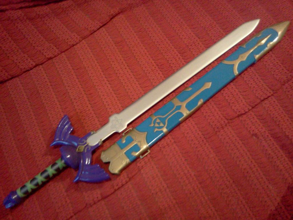 Master Sword - Zelda Twilight Princess by ...
