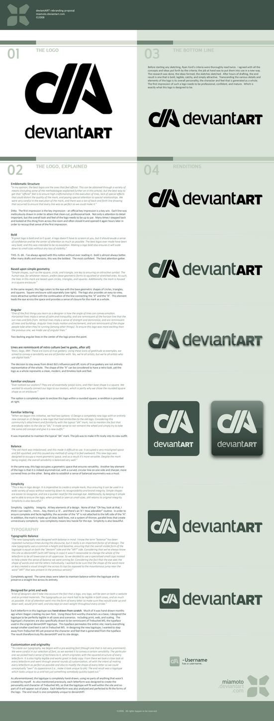 deviantART Logo Proposal by Miamoto