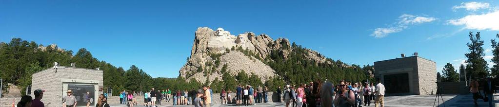 Rushmore Panorama by PuffytonDoesArt