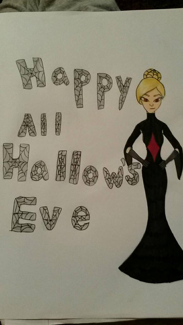 happy late night halloween! by PuffytonDoesArt