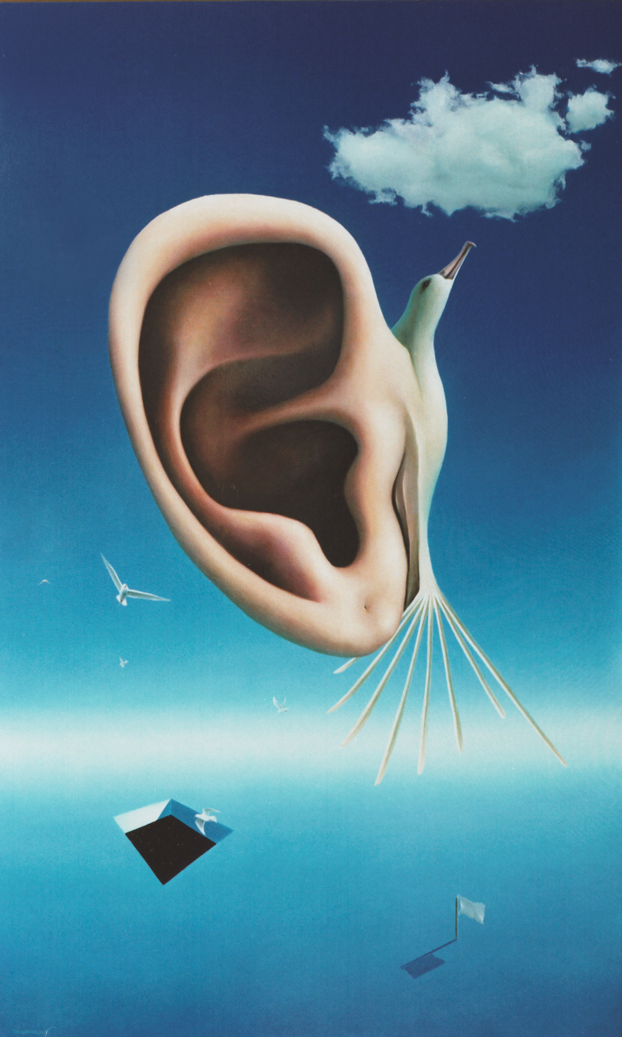 The sound of air
