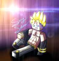 Minecraft Avatar - SexaySolace by GoldSolace