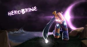 Minecraft Herobrine by GoldSolace