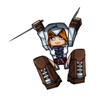Minecraft Avatar - Assassin Girl (Coldice02)