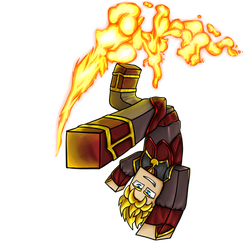 Minecraft Avatar - Fire Bender Solace