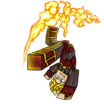 Minecraft Avatar - Fire Bender Solace