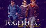 Harry Potter trio wallpaper