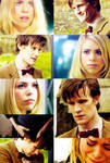 Eleven and Rose Doctor Who