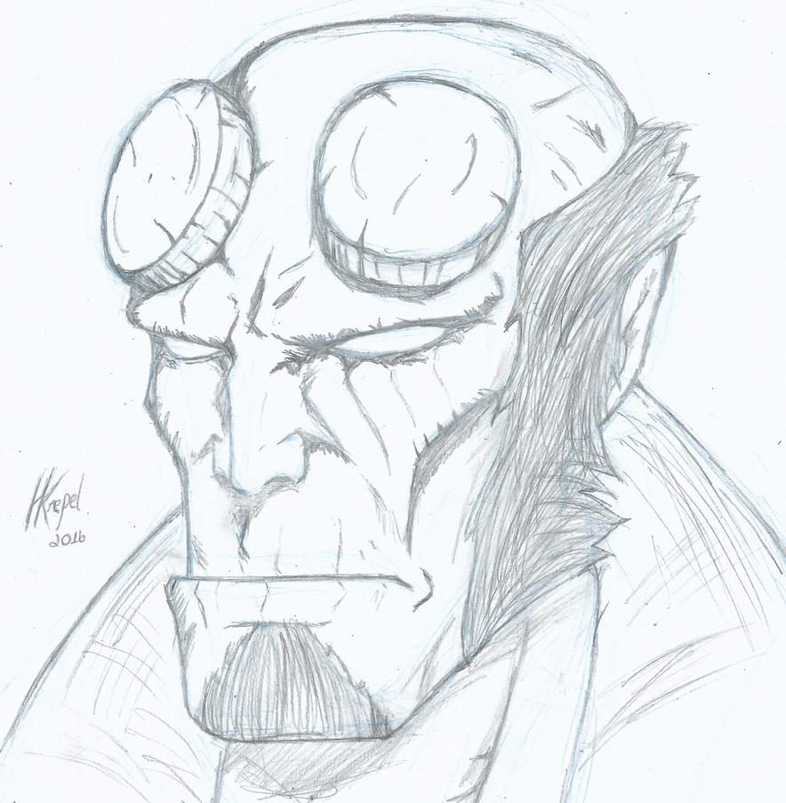 Hellboy 10122016 by krepel