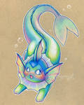 Colorful Vaporeon