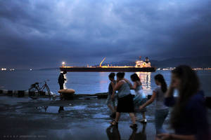 melancholy in Batumi by oscarsnapshotter