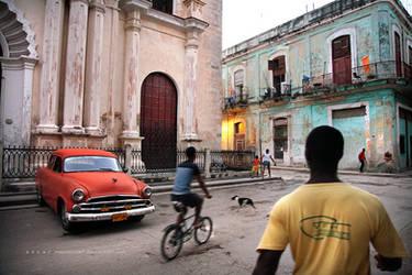 la vida diaria de la Habana.