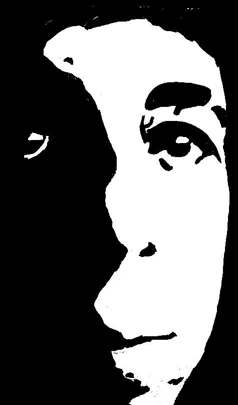 High Contrast Portrait by DreamDragon1 on deviantART
