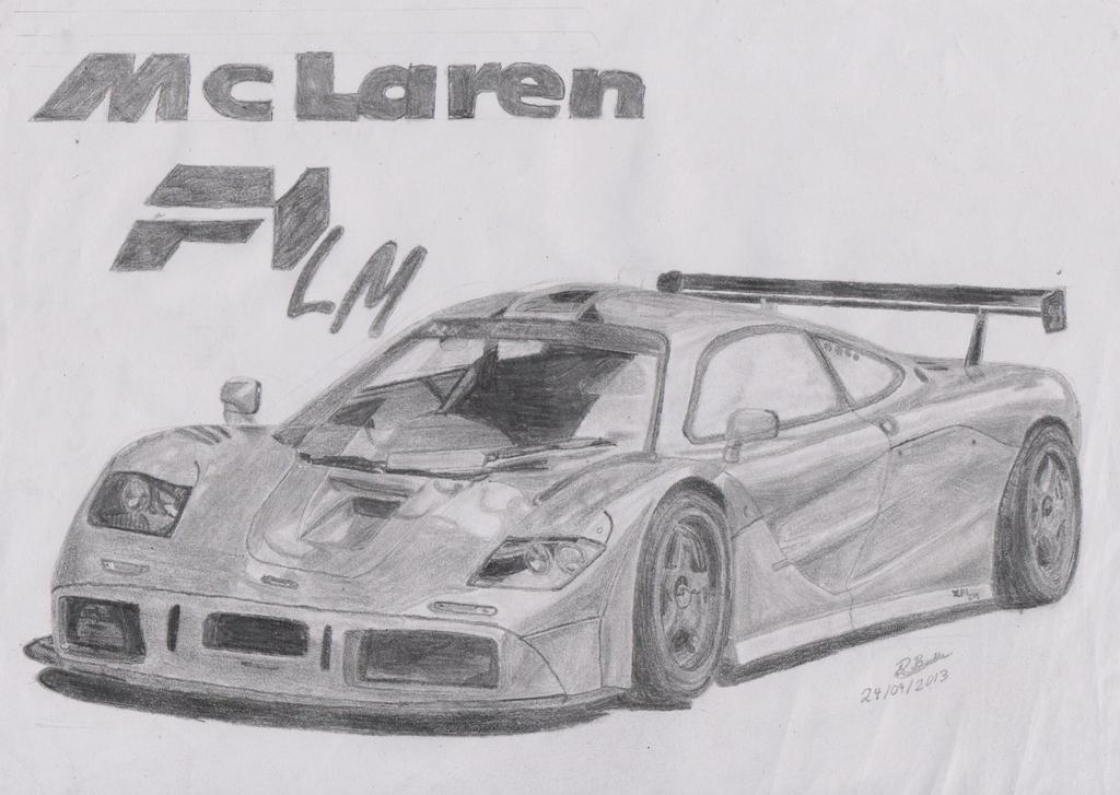 McLaren F1 LM by footiedavana on deviantART