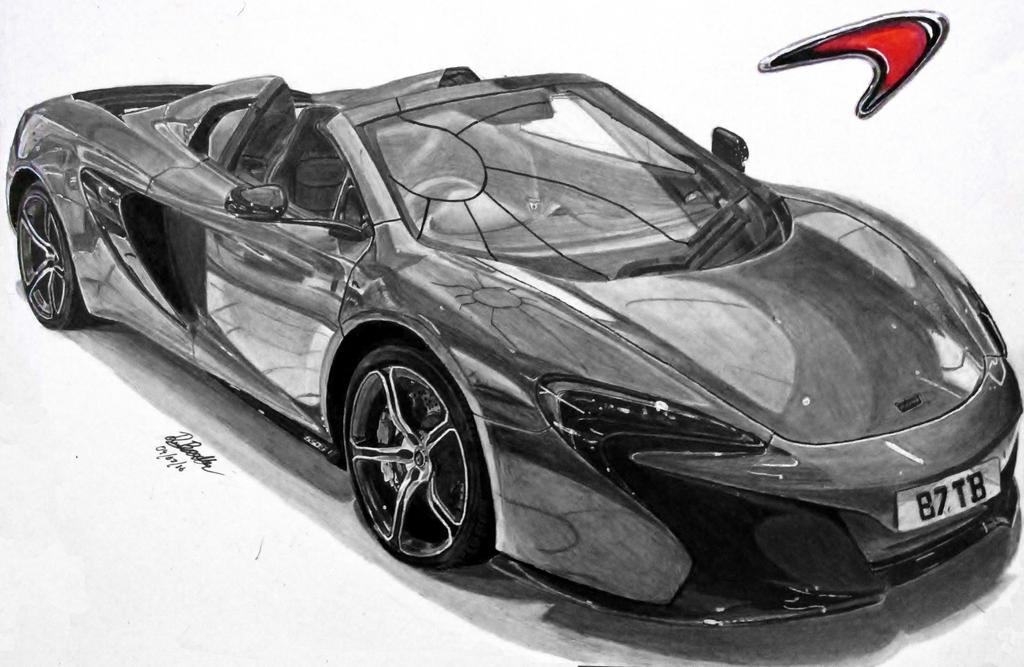 McLaren 650S Spider Shmeemobile by footiedavana