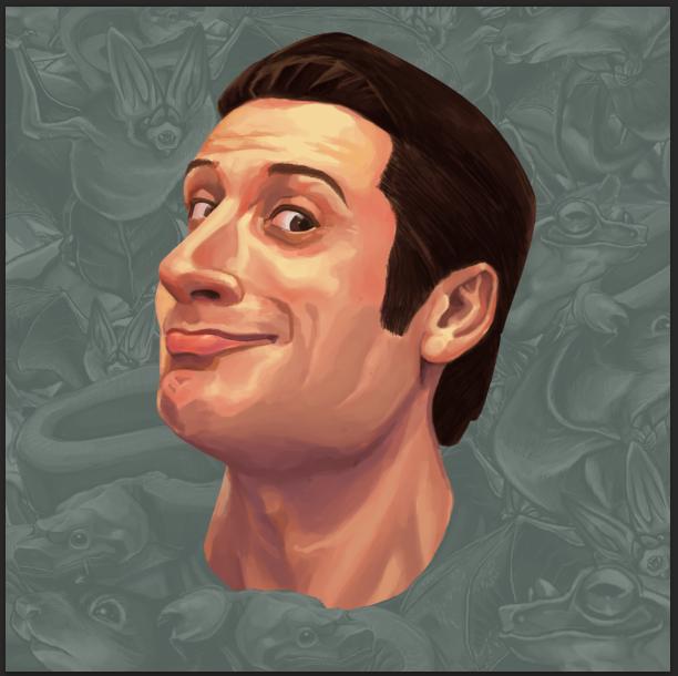 Self-portrait v2