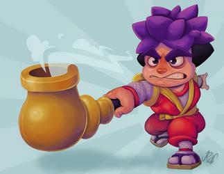 Ganbare Goemon: the mystical Ninja by tippedchair