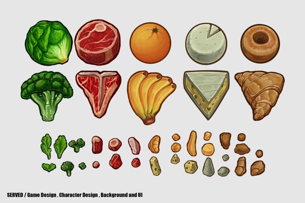 Served - Food items