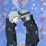 Hidan and Kakuzu X-Mas by TheRavenSama