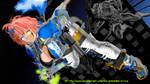 Kei Rei Vs No Eyes by silverdrake-style