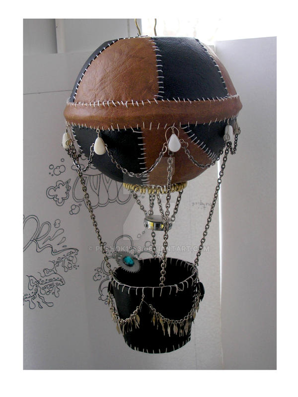 Steampunk mobile Air balloon5 by pushok1983