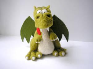 #felted #dragon (4)