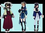 [OPEN] Naruto Adoptables by c-e-l-t-a