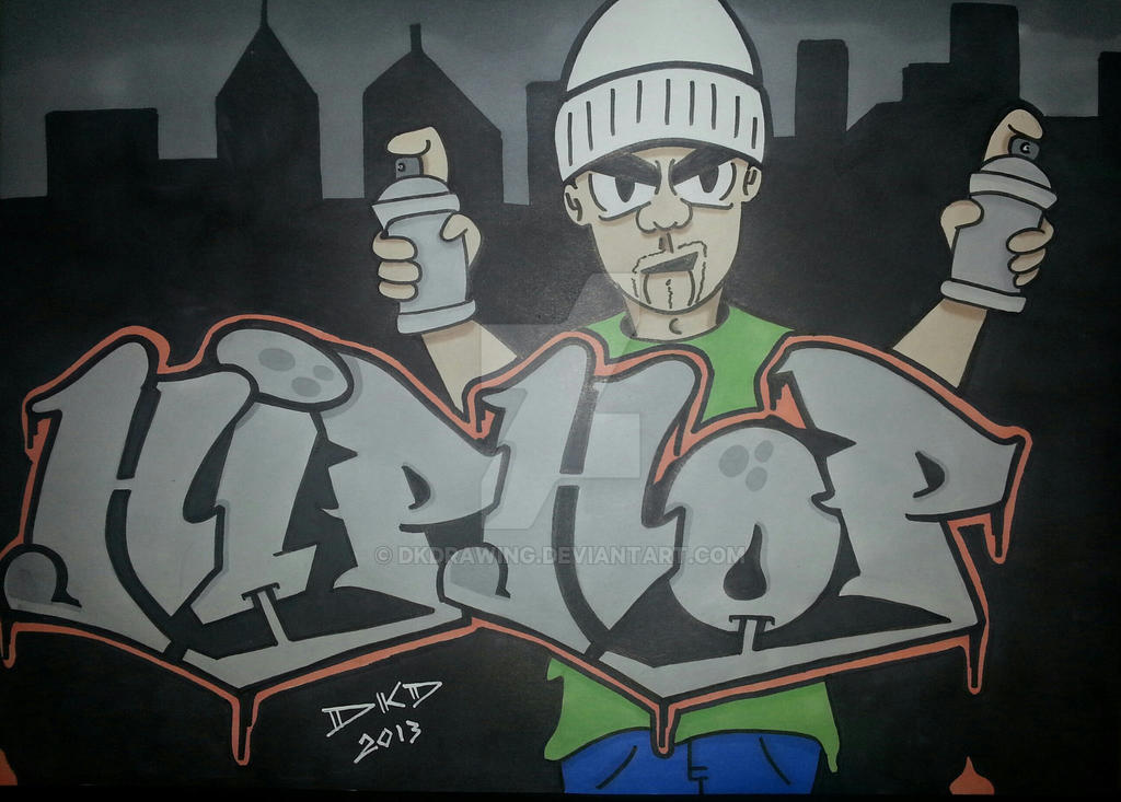 Graffiti hip hop character by dkd by dkdrawing on deviantart - Graffiti ideen ...