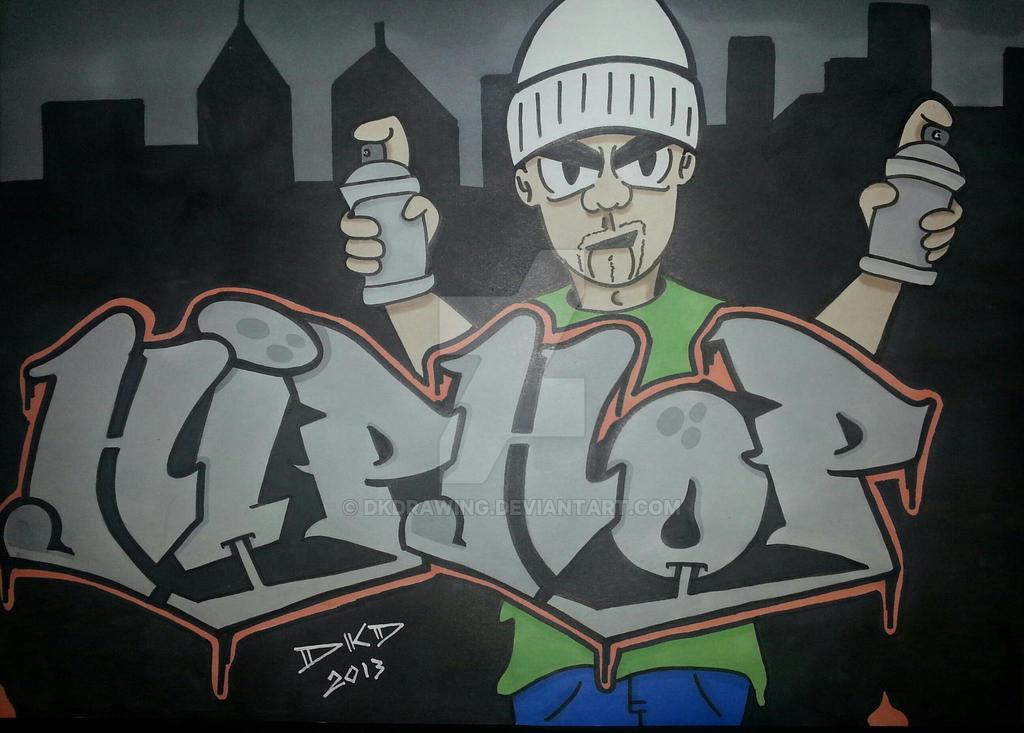 Graffiti hip hop character by dkd by dkdrawing on deviantart - Graffiti ideen ...