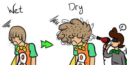 Superpoof-y Hair. by HamSamwich