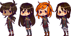 MARK pixel babies by papyrus-tree